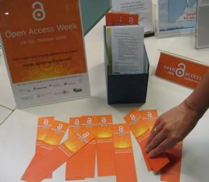 Open-Access-Infomaterial an der TUHH-Bibliothek