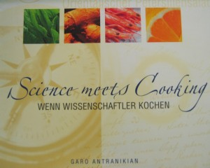 When science meets cooking - Buchtitel