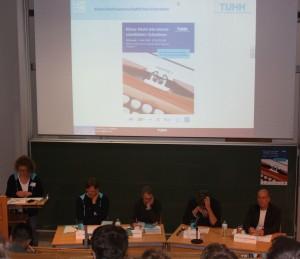 Podiumsdiskussion Kleine Nacht des wissenschaftlichen Schreibens an der TUHH