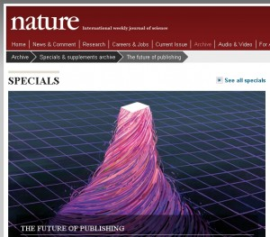Nature Special on the future of publishing