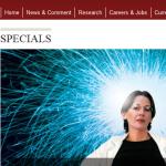 Women in Science - Special der Zeitschrift Nature