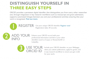 Distinguish yourself in three easy steps