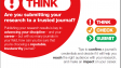 Think, Check, Submit. Choose the right journal for your research