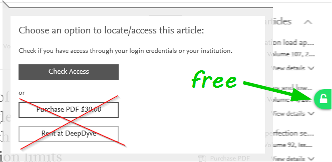 Unpaywall in action