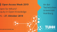 #OAWeek2019 at TUHH – Programme