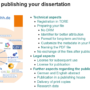 What you should know when publishing your dissertation on TORE