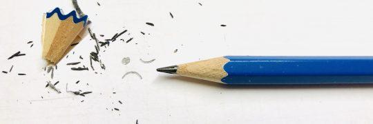 Abgenutzter Bleistift