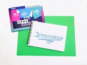 Bild HOOU Broschüre und Notizblock