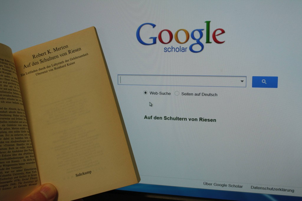 Robert Merton und Google Scholar