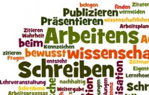 Zitieren beim wissenschaftlichen Arbeiten - Wordle