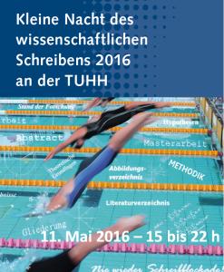 3. Kleine Nacht des wissenschaftlichen Schreibens an der TUHH am 11. Mai 2016