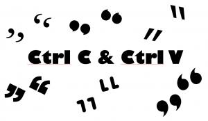 Ctrl C & Ctrl V