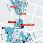 Campusplan der TUHH