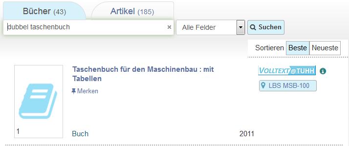 tub.find (Screenshot)
