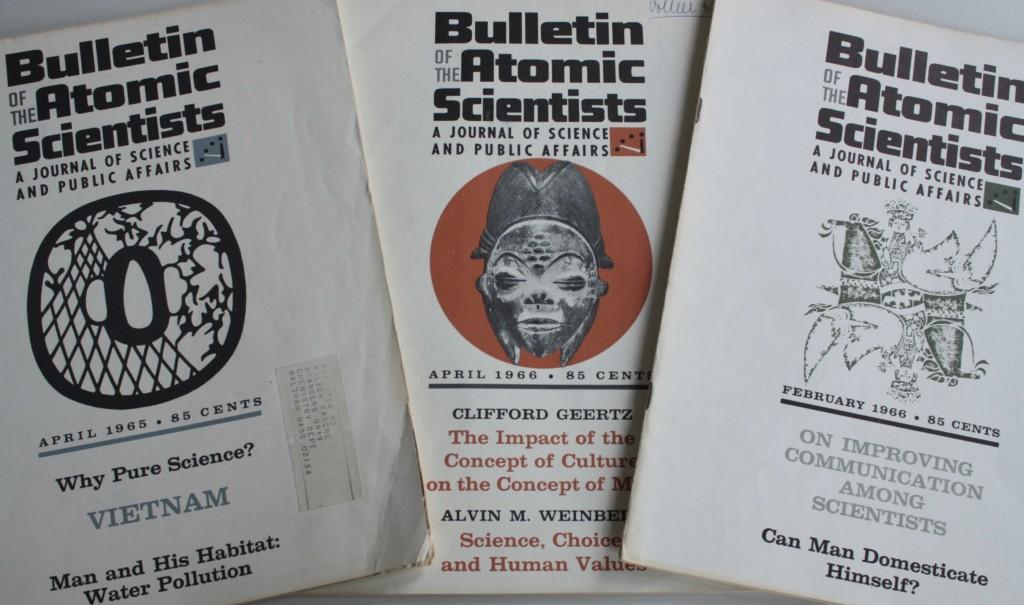 Titel des Bulletins aus den 60er Jahren