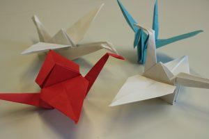 cranes as Origami