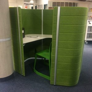 Beispiel-Carrel in grün