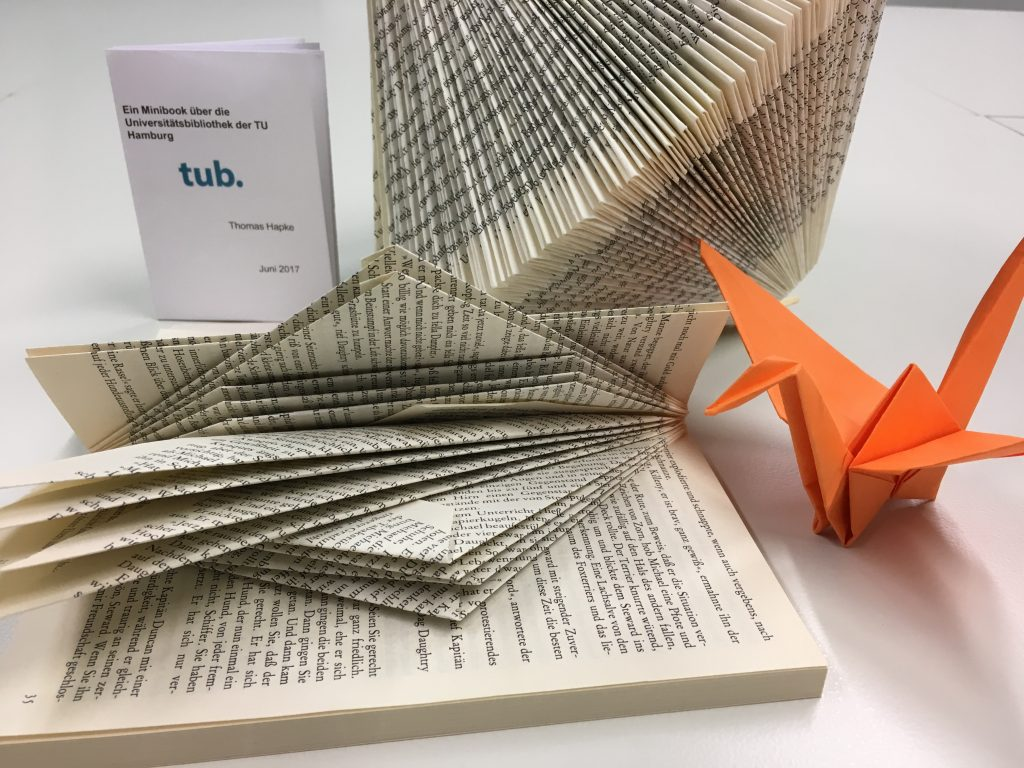 Origami with and without books