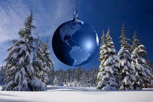Weihnachten, Winter, Christbaumkugel