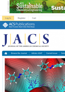 Journal of the American Chemical Society and other ACS journals
