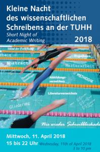 Kleine Nacht des wissenschaftlichen Schreibens an der TUHH 2018