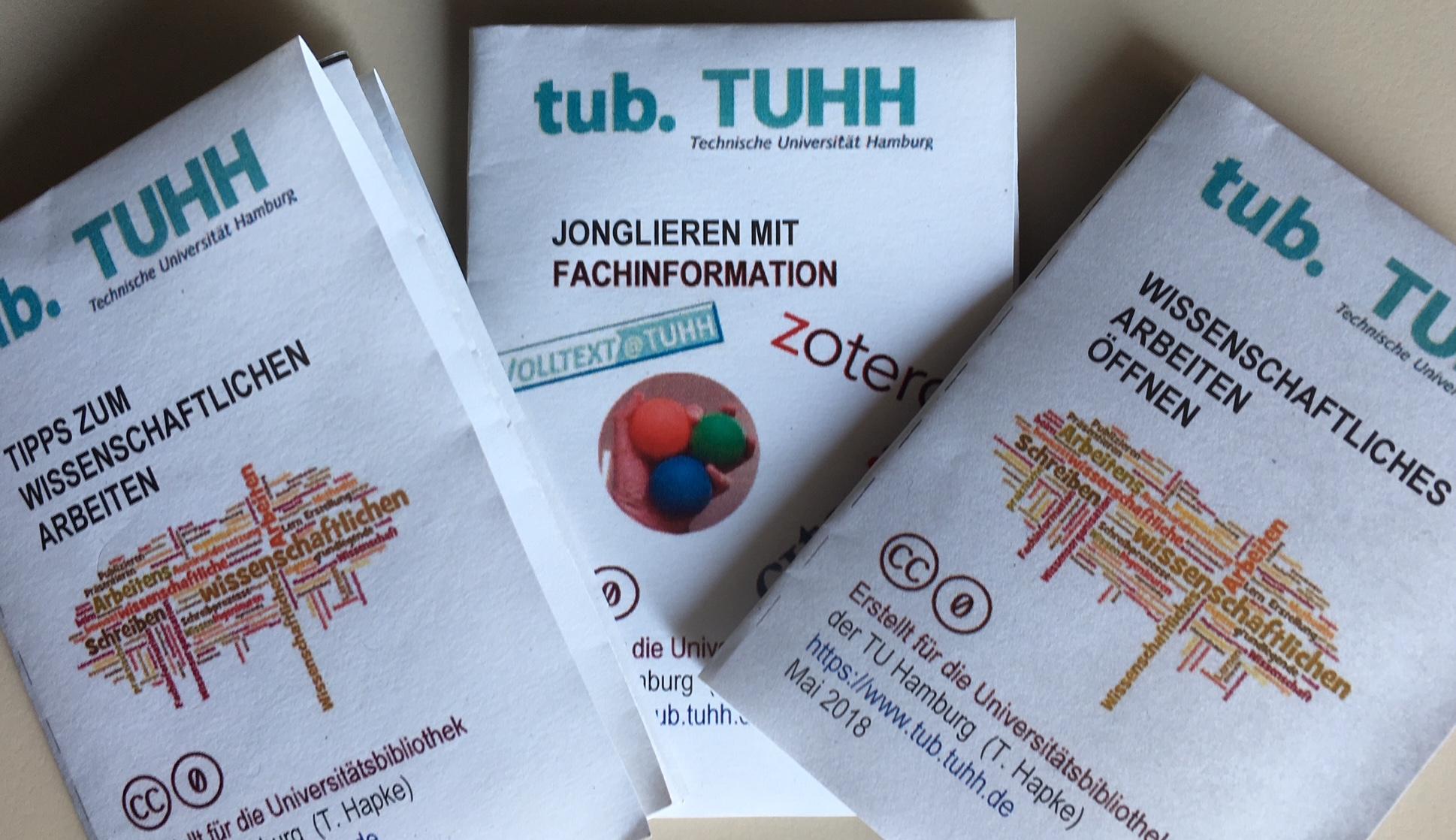 Booklets aus der tub. zum wissenschaftlichen Arbeiten