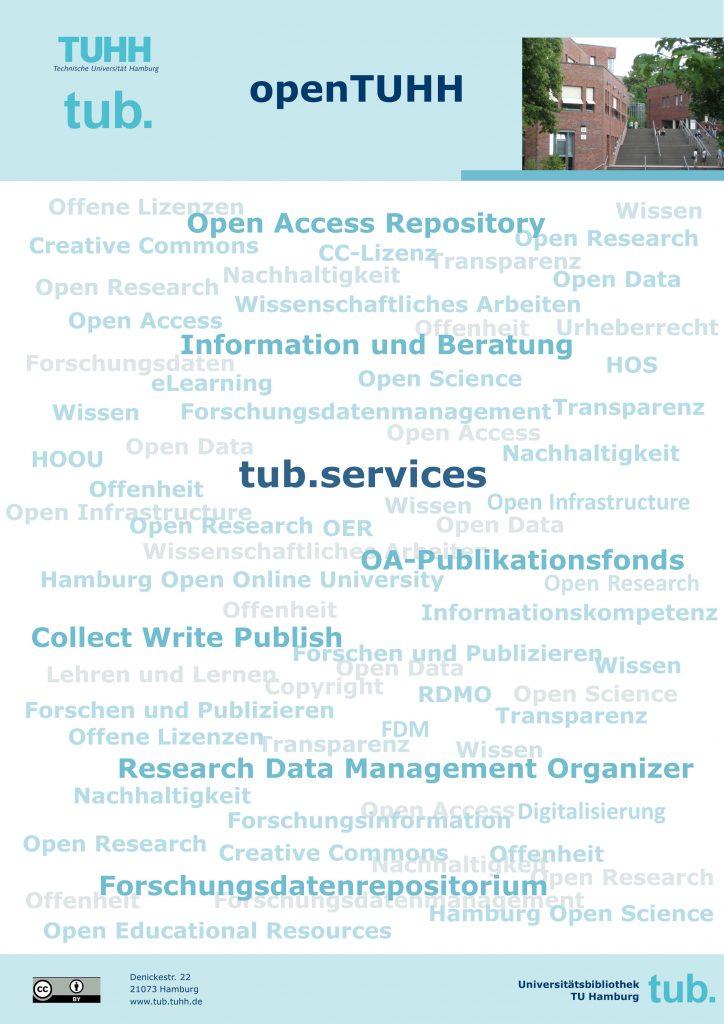 openTUHH - Plakat der tub. 2018