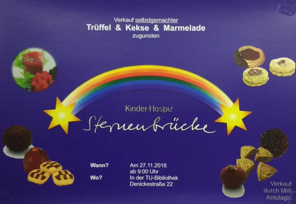 Sternenbrücke Trüffel und Kekse