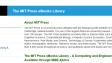 Neue Online-Books von MIT Press