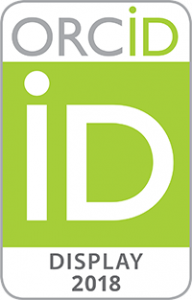 2018 ORCID Badge DISPLAY