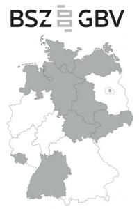 """BSZ-GBV """"Verbreitungsgebiet"""""""