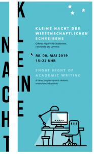 Deckblatt Kleine Nacht Flyer 2019