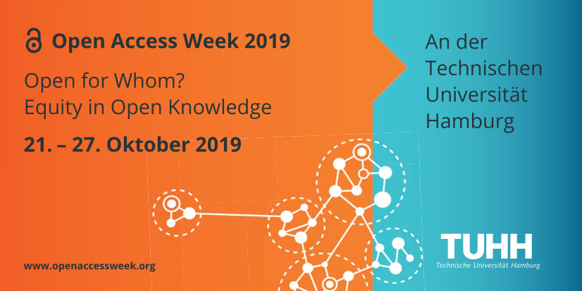 Open Access Week 2019 an der TU Hamburg