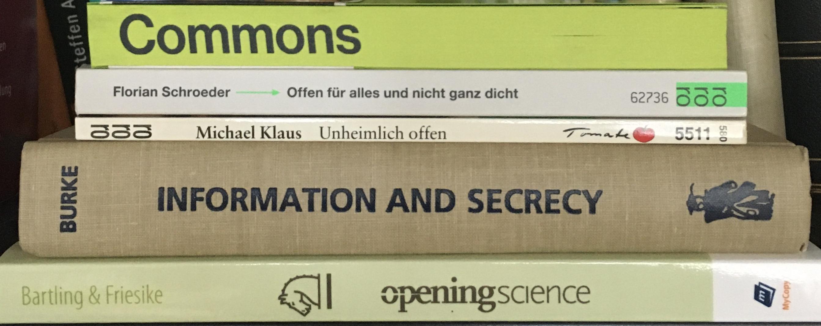 Bücher zum Thema Offenheit