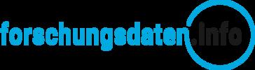 Logo forschungsdaten.info