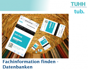 Fachinformation finden: Datenbanken