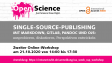 #OAWeek2020 Single-Source-Publishing mit Swapfire und OJS
