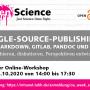 #OAWeek2020 Single-Source-Publishing mit Swapfire und OJS