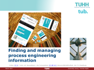 Finding and managing process engineering information (slides of presentation in 2021)