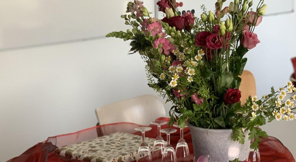 Blumen für Frau Feldsien